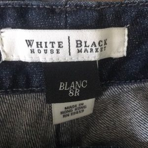 White House Black Market Jeans - WHBM blue jeans with bling on back pockets